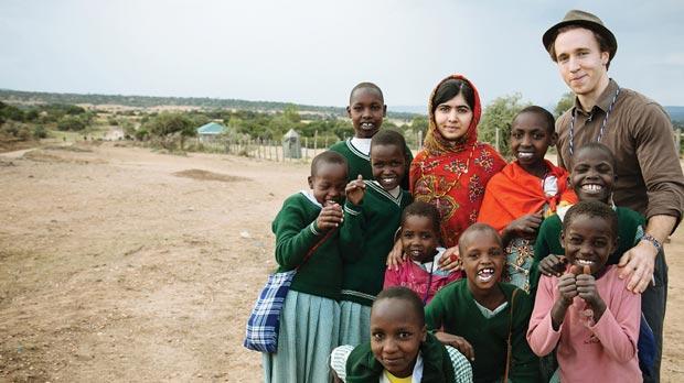 Malalino prvo putovanje kao humanitarac u Afriku 2014. godine
