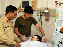 Malala u bolnici nakon napada od strane talibanskih terorista u oktobru 2012. godine