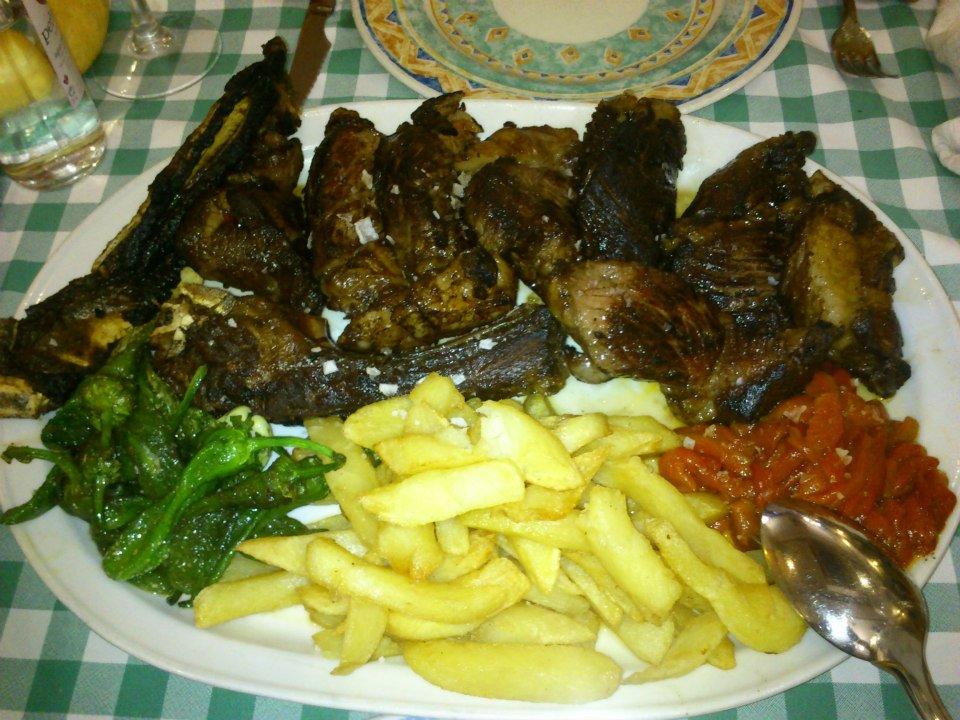 Biftek na baskijski način, grad Gernika, Restoran Gernika, Baskija