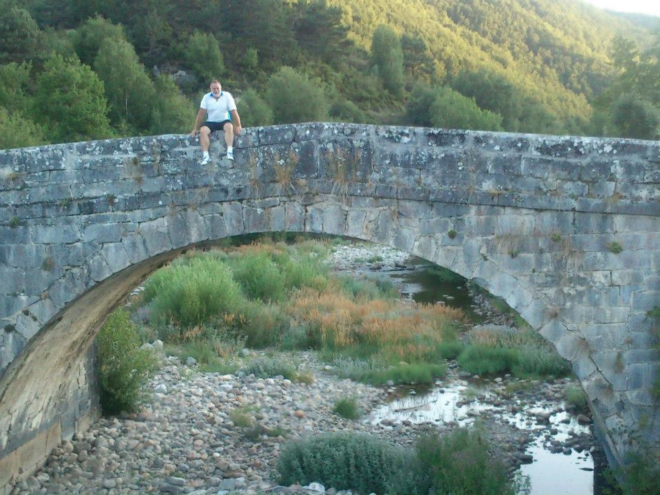 Rimski most negde pre jezera oko Covadonge