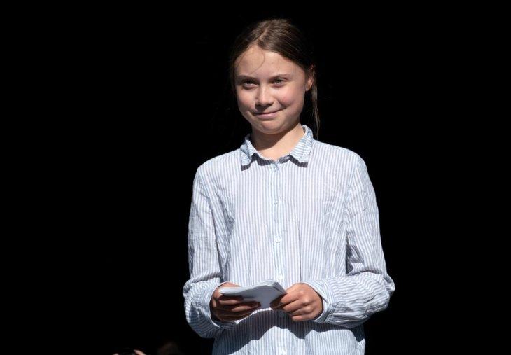 Greta Tunberg Exit LIFE STREAM