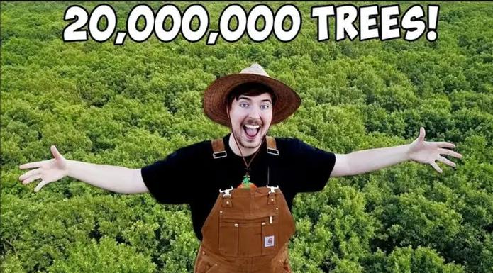youtube zvezde 20 miliona stabala