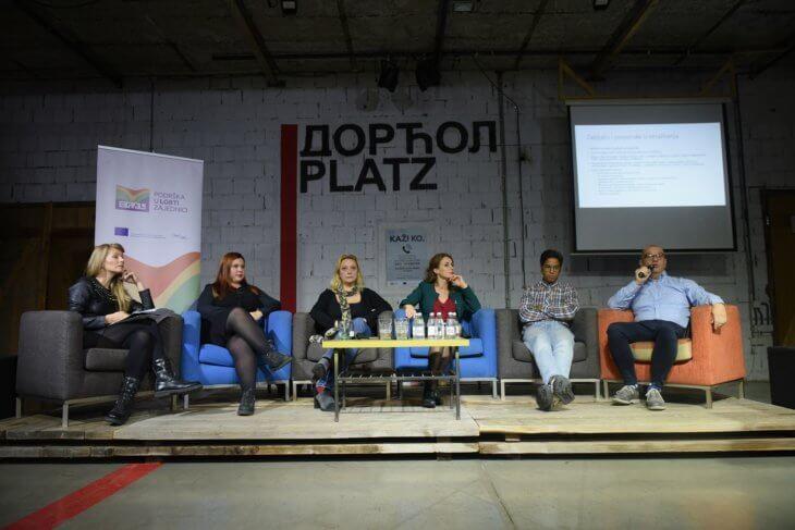 LGBTI Govornici panel diskusije