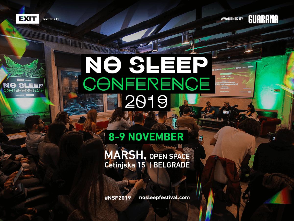 No sleep konferencija