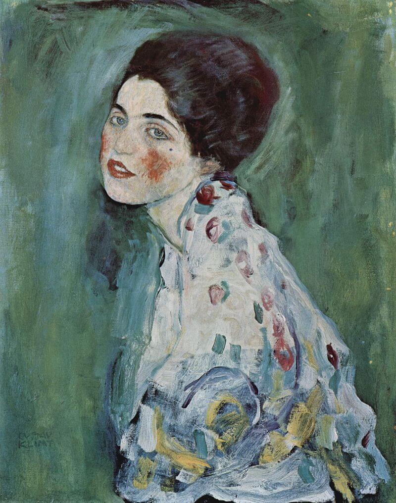 Portret dame Gustav Klimt