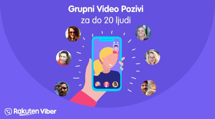 grupni video pozivi