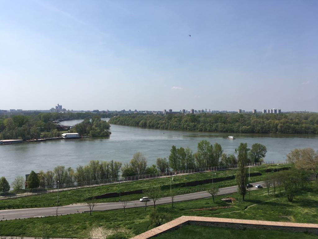 Ušće Save u Dunav.