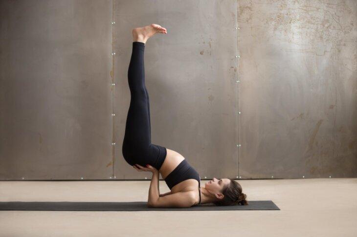 napad panike joga asane