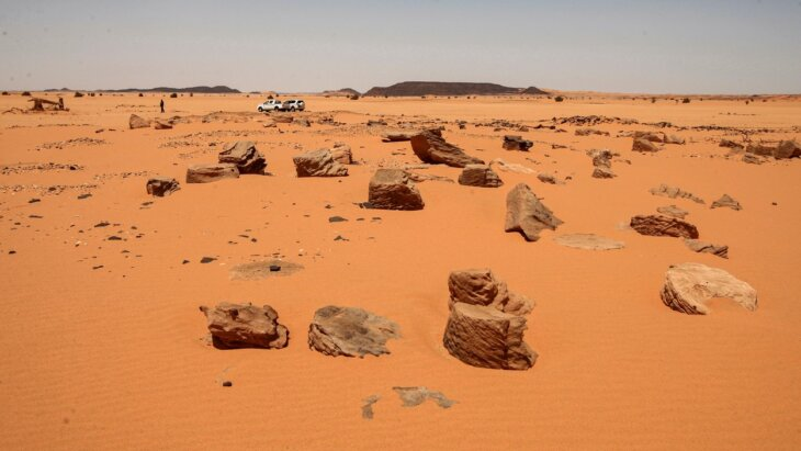 drevni lokalitet u Sahari prokopan