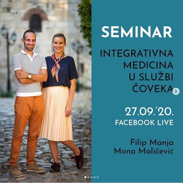Filip Manja i Mona Maličević