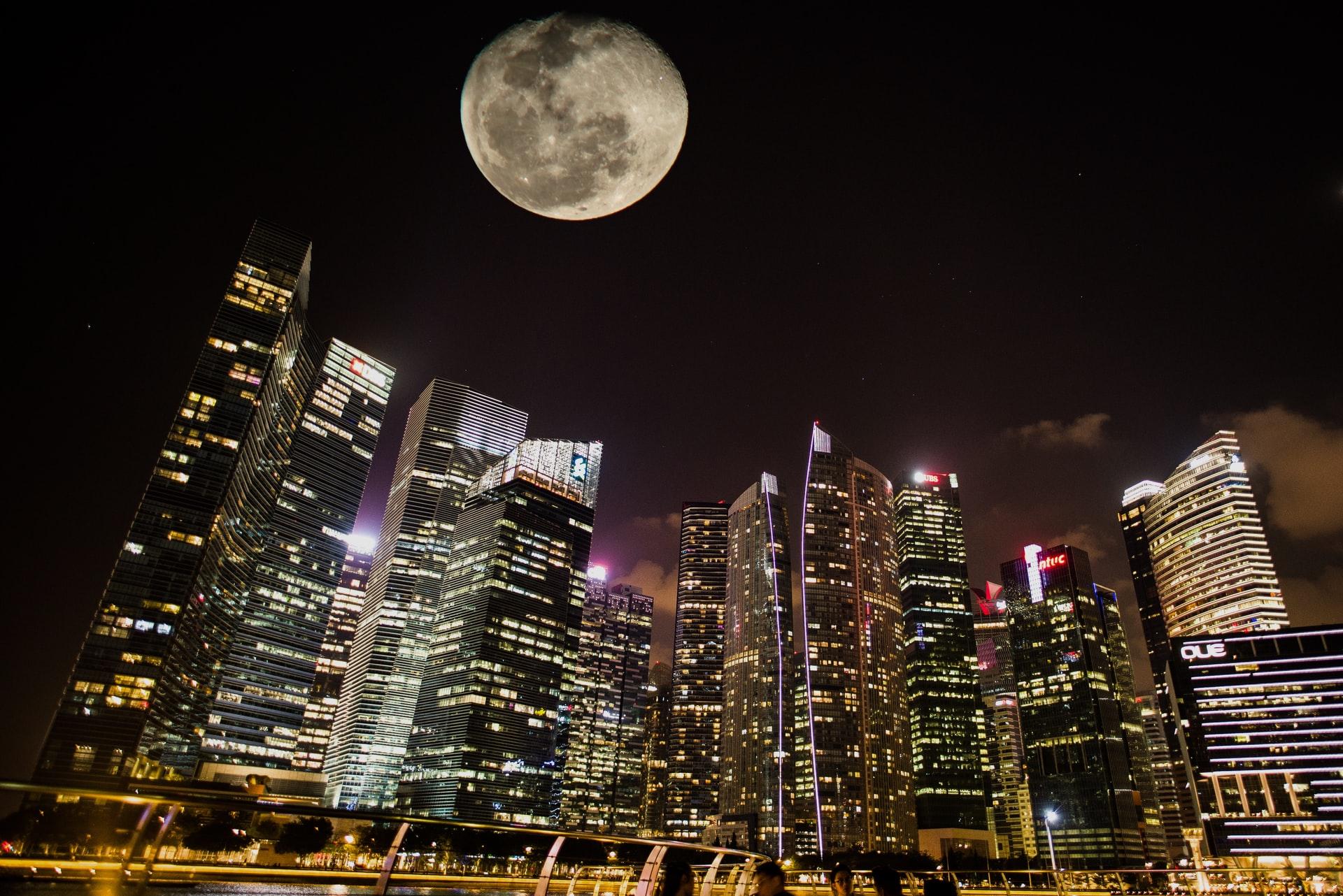 zračenje na mesecu