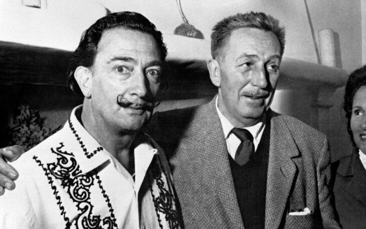 Salvador Dali i Volt Dizni