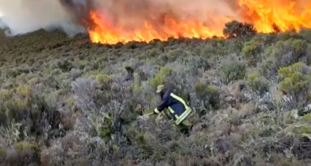 požar kilimandžaro