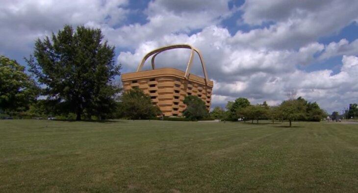 zgrada u obliku korpe