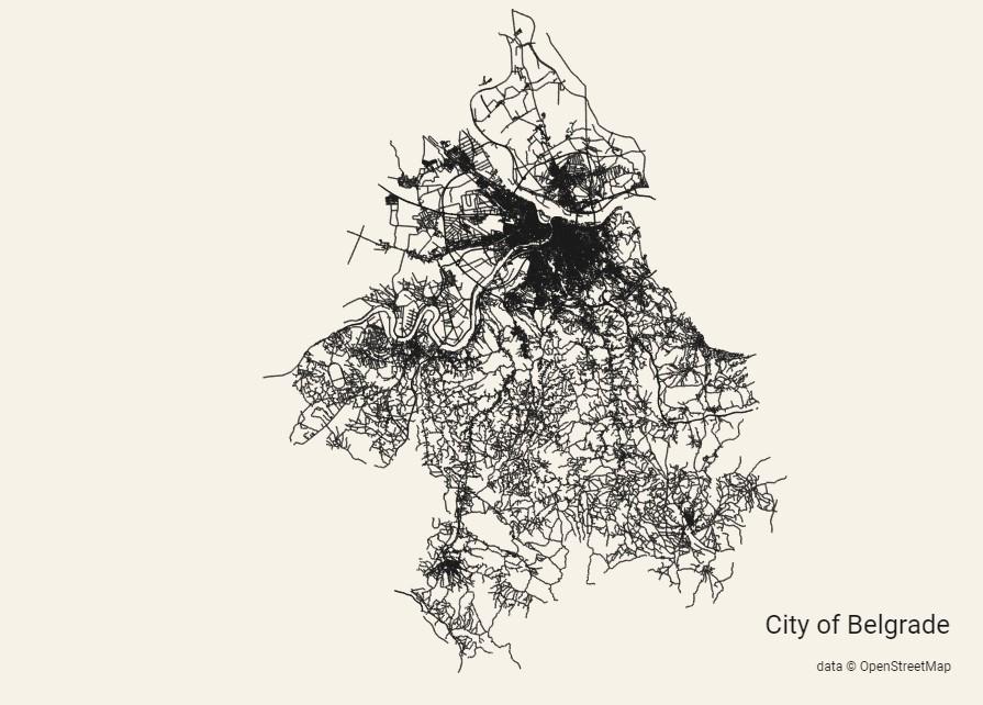 city roads beograd