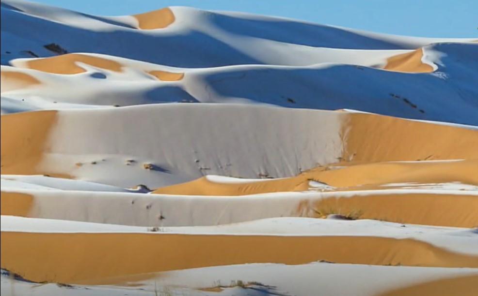 sneg u sahari