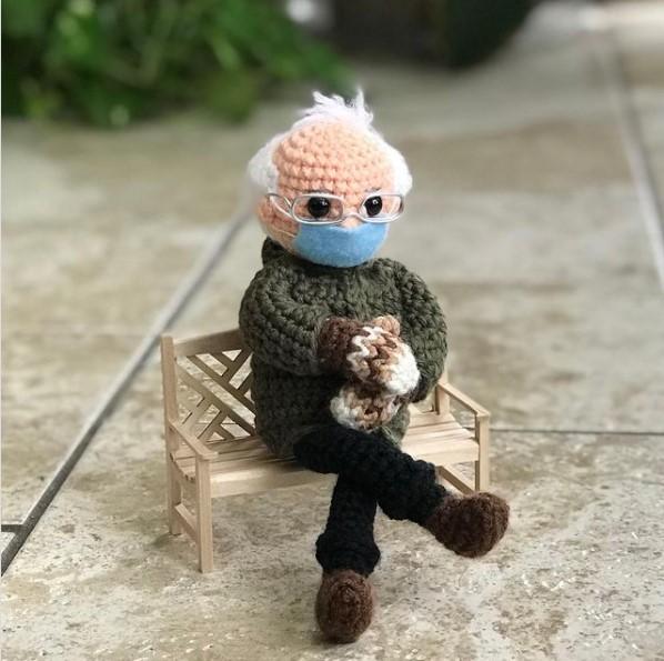 lutka bernija sandersa